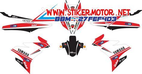Striping Honda Revo Fit V2 striping motor jupiter mx king ducati v2 stikermotor net