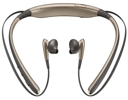 Samsung Level U Earphone Gold samsung level u wireless headphones deals for only aed 119 instead of aed 179