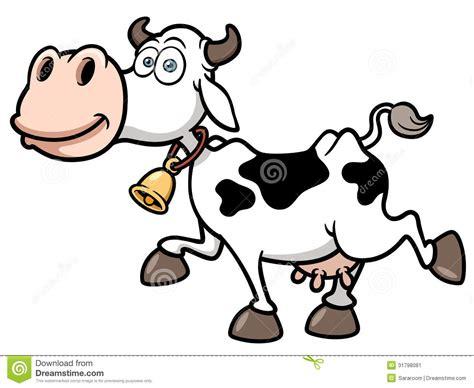 clipart mucca mucca fumetto illustrazione vettoriale illustrazione