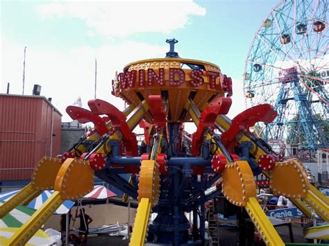 coney island swing ride luna park coney island windstarz