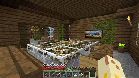 Dining Room Table Minecraft D Nik S Day My Awesome Minecraft House