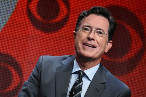 Who Is The Real Stephen Colbert An Early Peek At His Late   stephen colbert s first late show guests include tesla