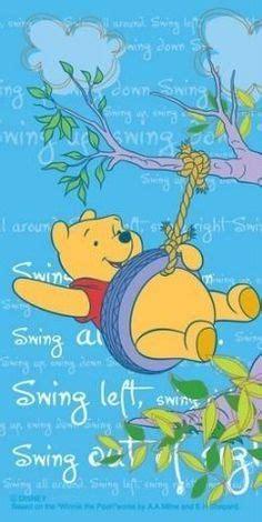 pooh bear swing winnie the pooh easter winnie the pooh friends