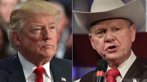 donald trump on roy moore a devastating loss for trump in alabama opinion cnn
