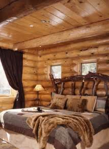 Rustic Log Home Decor by 65 Cozy Rustic Bedroom Design Ideas Digsdigs