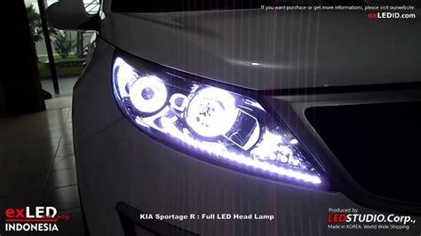 Kia Sorento Headlight Kia Sportage R Led L