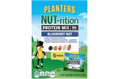 Planters Nutrition Digestive Health Mix by Planters Nut Rition Blueberry Nut Protein Mix 9 Oz Kraft