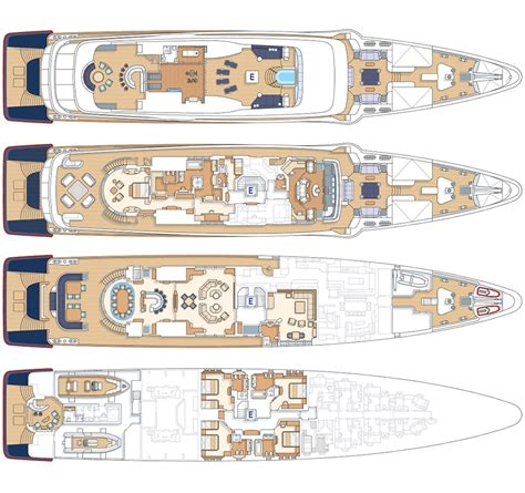 yacht layout plans sycara v luxury charter yacht mediterranean and caribbean