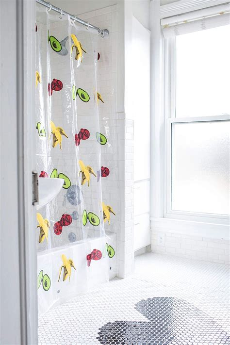shower curtain diy budget bathroom makeover 10 creative diy shower curtains