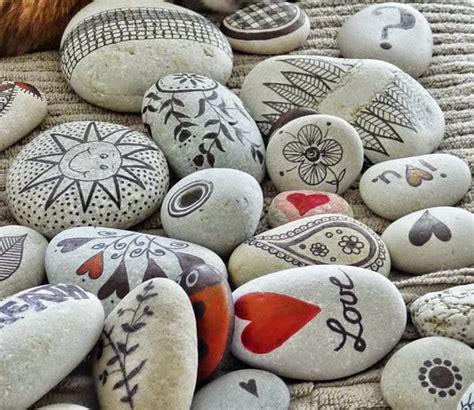 imagenes para pintar en piedras pintar y decorar piedras a mano consejos b 225 sicos e ideas