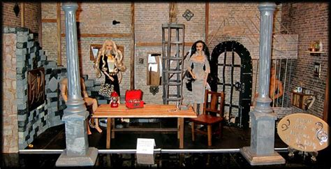 fashion doll dioramas 1000 images about dioramas on