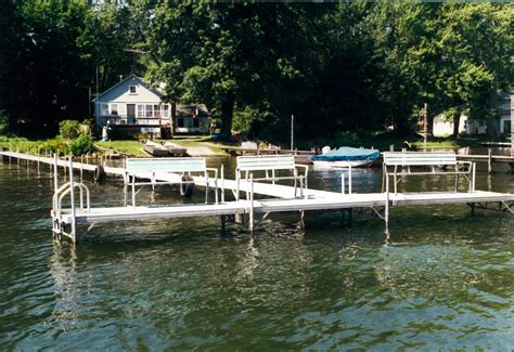 boat dock jamestown lake chautauqua docks and lifts trusted and proven