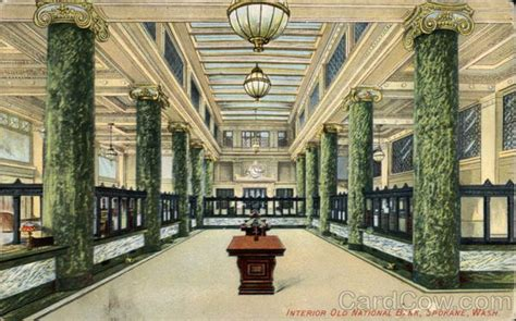 Old National Bank Gift Card - interior old national bank spokane wa