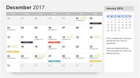 microsoft powerpoint calendar template free calendar 2017 template