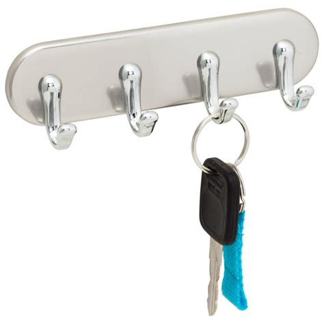 Key Holder Wall by Stainless Steel York Magnetic Key Rack The Container Store
