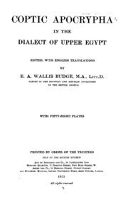 1332548504 histoire du patriarche copte isaac miscellaneous coptic texts in the dialect of upper egypt