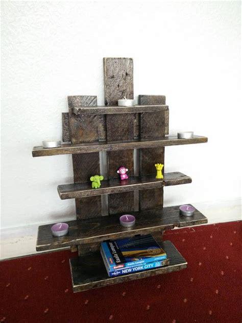 pallet tree inspired floating shelves 101 pallets