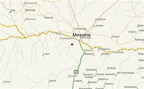 messina map messina south africa location guide