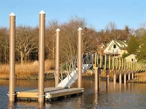 Http www dockbuilders com piling hoops floating docks htm