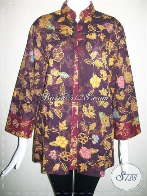 Beli Baju Ukuran Besar Busana Batik Wanita Kerja Baju Batik Ukuran Besar Di Toko
