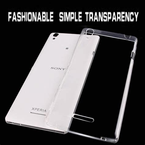 Casing Silicon Sofcase Hardcase Sony Xperia T2 T3 1 free cell phone cases ultra thin transparent clear jelly silicone gel tpu soft