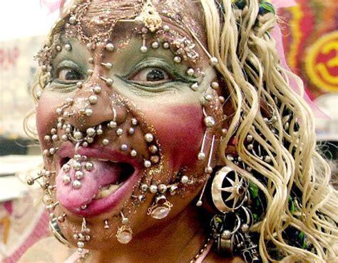 tattooed lady edinburgh meet the world s most pierced woman ny daily news