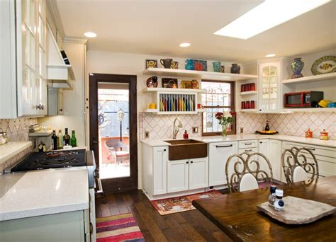 Eclectic Kitchen Ideas by French Country Kitchen Eclectic Kitchen Austin By