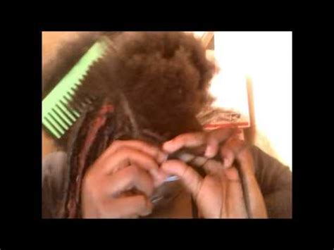putting in dreads how to put in dread extensions with wraps
