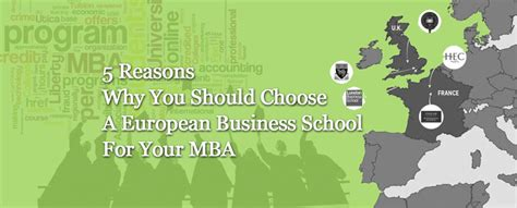 Why Should We Select You For This Mba Program by 5 Reasons Why You Should Choose European Business School
