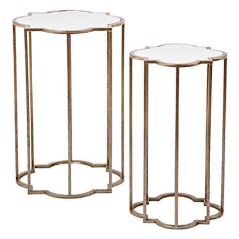 quatrefoil side table modern bedroom sussex by the quatrefoil tables set of 2 end tables occasional