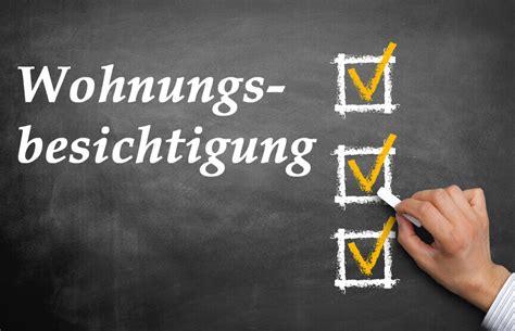wohnungsbesichtigung worauf achten checkliste f 252 r die wohnungsbesichtigung worauf musst du