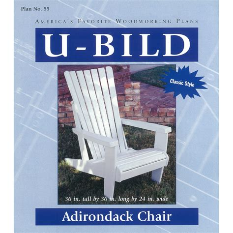 Adirondack Chair Plans Lowes shop u bild adirondack chair woodworking plan at lowes