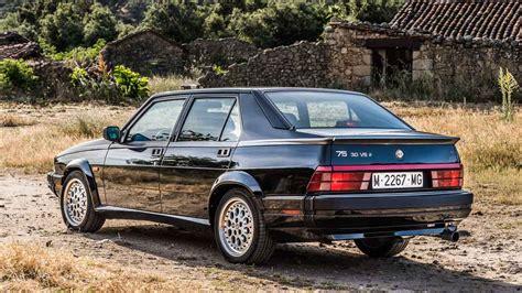 Alfa Romeo V6 by Coches Para El Recuerdo Alfa Romeo 75 V6 Qv Coches