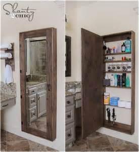 bathroom mirror storage cabinet awesome diy bathroom mirror cabinet for some storage