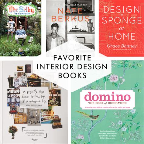 Great Books For Interior Designers | top five interior design books for happy modern homes