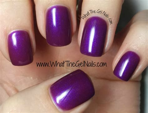 most popular purple gel nail color purple and pink swatches of ibd just gel nail polish colors