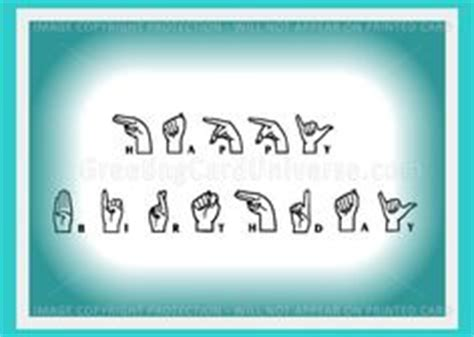 Happy Birthday Sign Language by Sign Language On American Sign Language Learn