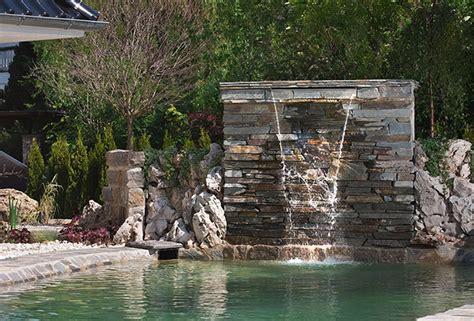 Wasserfall Fur Gartenteich gartenteich schwimmteich und pool gartengestaltung mit