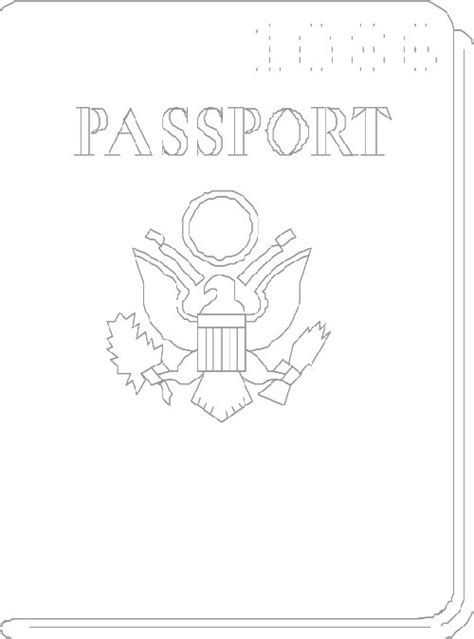 126 Best Images About Preschool Around The World Theme On Pinterest Sponge Crafts Around The Preschool Passport Template