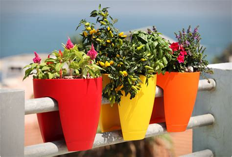 Greenbo Planter by Railing Planters By Greenbo