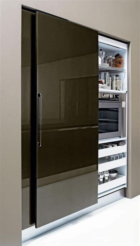 Sliding Doors For Pantry sliding pantry door small space living