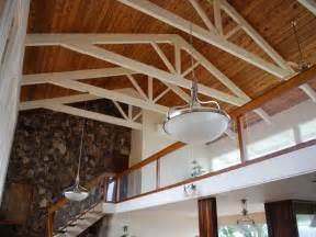 ideas exposed beam ceiling with hanging l decor ideas