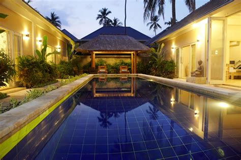garden pool villas private bali family accomodation