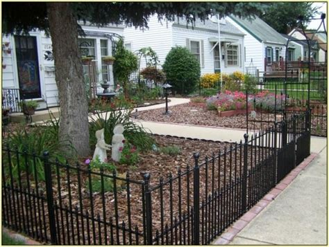 front yard fence ideas fence ideas