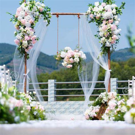 artificial flower wall wedding backdrop decoration stage