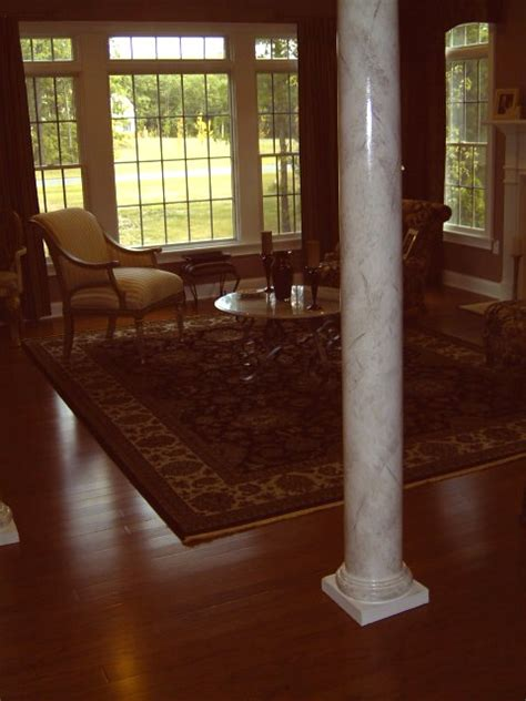 tile backsplashe central nj jackson freehold colts neck marble columns marbleize columns faux columns central