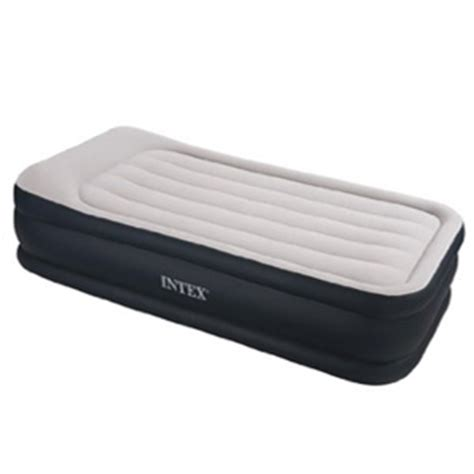 Intex Air Mattress Reviews by Intex Deluxe Raised Pillow Rest Review 3 Beds