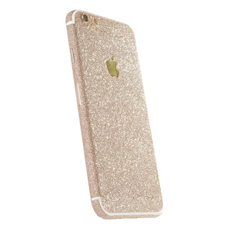 Sticker Gliter Untuk Iphone 6 6 7 Dan 7 glitter sticker goud iphone 7 exclusievehoesjes eu