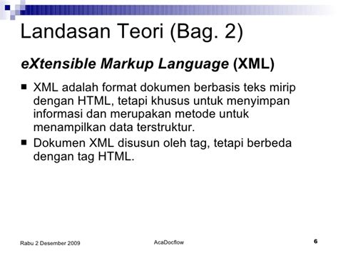 format skripsi uajy academic document workflow berbasis xml