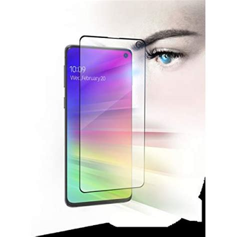zagg glassfusion visionguard galaxy s10 screen protector kikatek